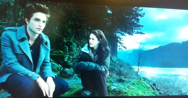 Twilight Boulders on River with Edward and Bella