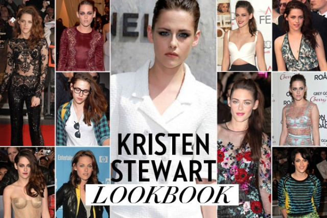 Kristen Stewart Style Evolution in FashionMagazine