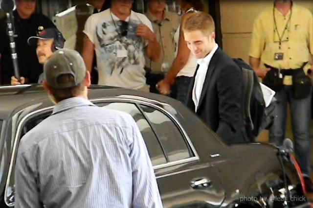 Visiting Robert Pattinson Sites in LA