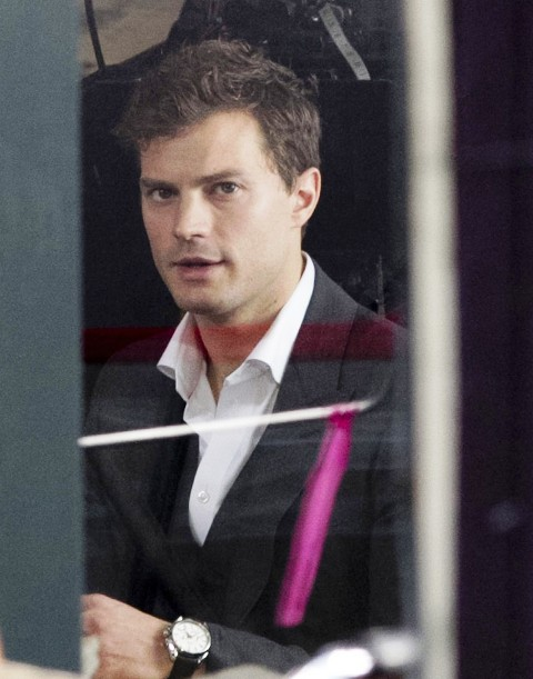 51275684 Actor Jamie Dornan spotted on the first day of filming for the book adapted movie 'Fifty Shades Of Grey' on December 1, 2013 in Vancouver, Canada. FameFlynet, Inc - Beverly Hills, CA, USA - +1 (818) 307-4813