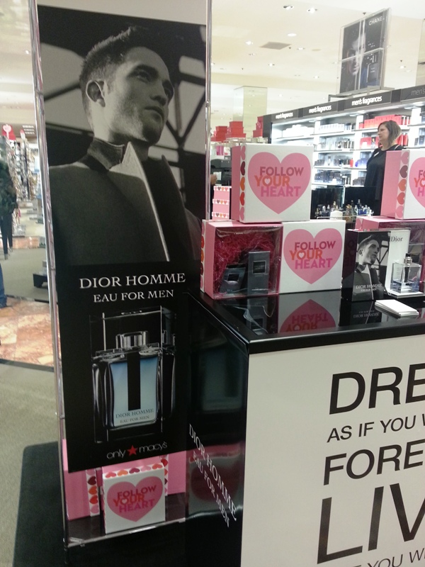 New Dior Homme Rob at Macys