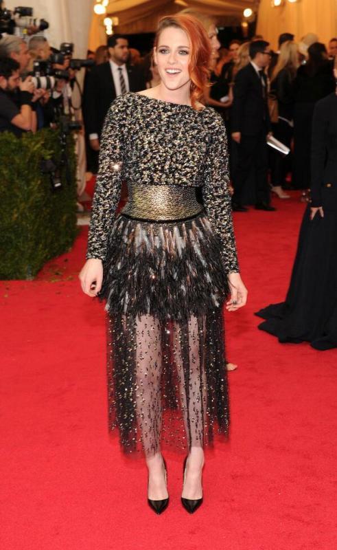 Kristen Stewart at Met Gala 2014