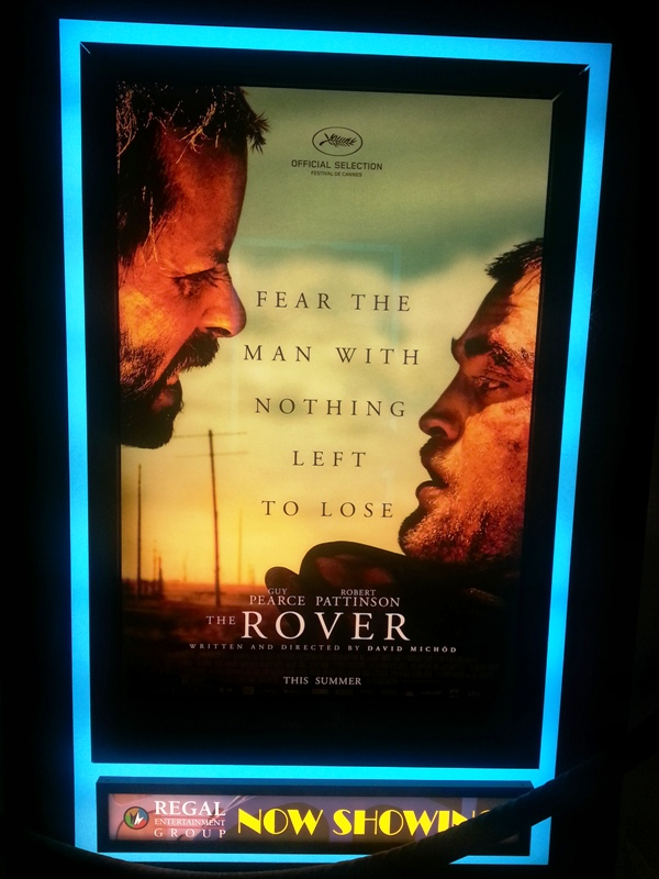 The Rover Poster and Standup at FOX TOWER CINEMAS