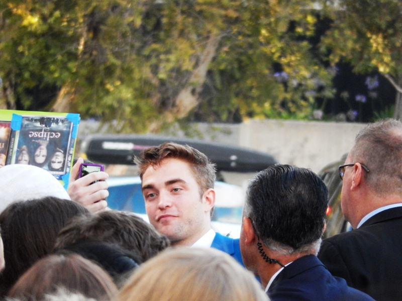 Seeing Rob At The Rover Premiere