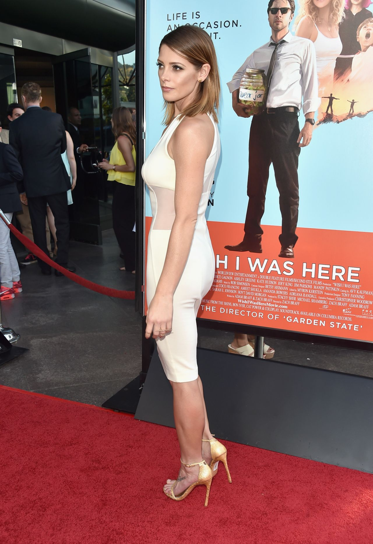Ashley Greene at Premiere for Wish I Was Here