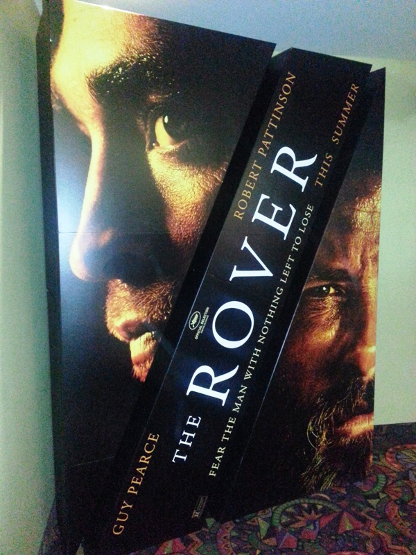 THE ROVER STANDEE