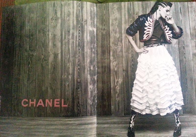 Kristen Stewart CHANEL Magazine Ads