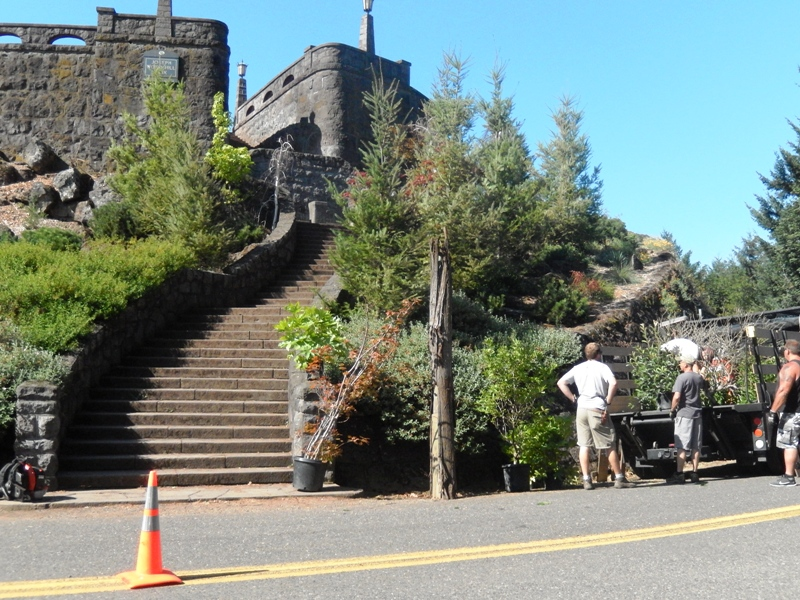 GRIMM FILMING PORTLAND ROCKY BUTTE CASTLE TAKE OUT