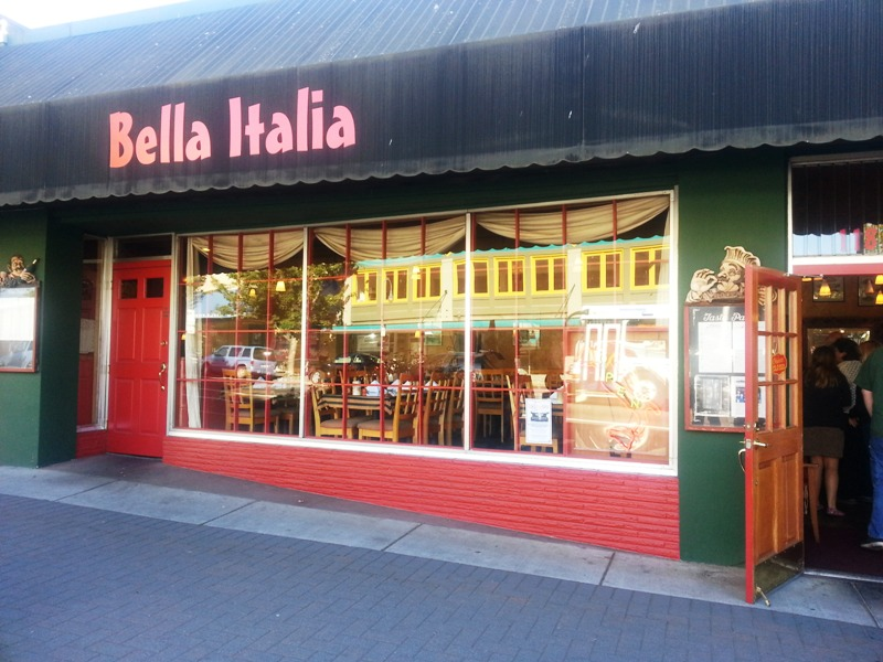 TWILIGHT BOOK LOCATION BELLA ITALIA
