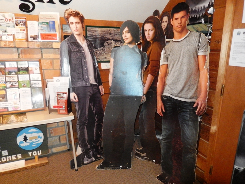 Talking Robert Pattinson Cut-Out and Crazy Fan on 105.1 Buzz Radio