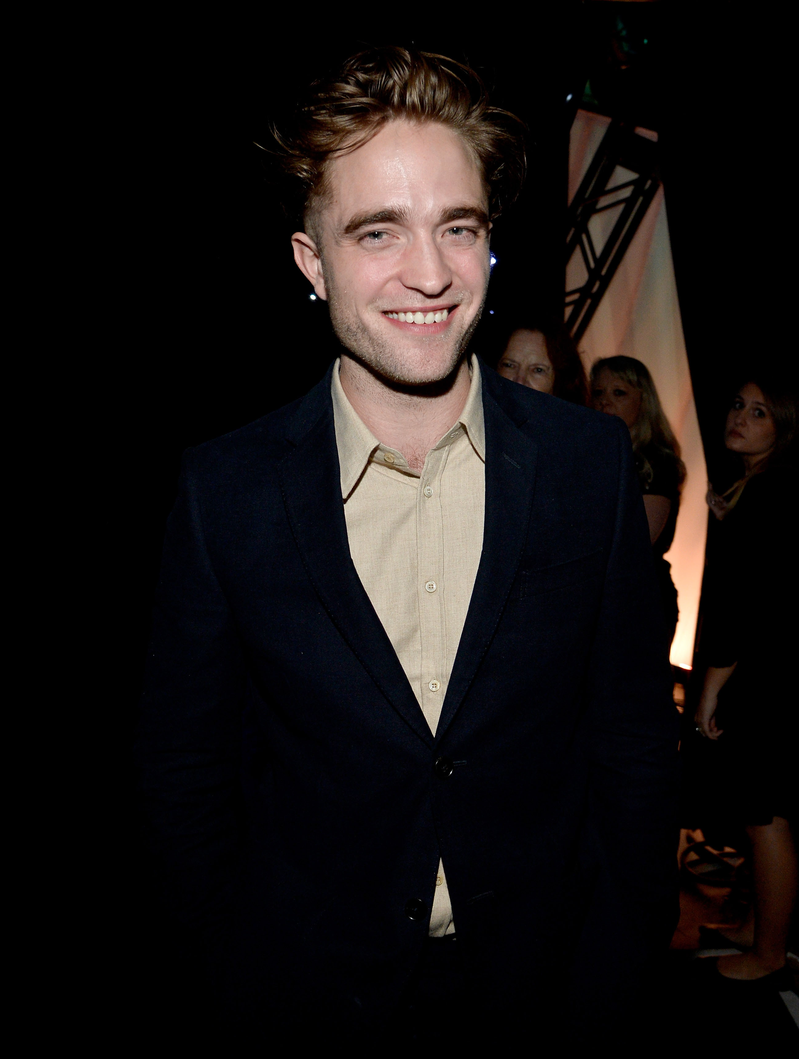 ROBERT PATTINSON ATTENDS LA EVENTS WITH NEW LOOK