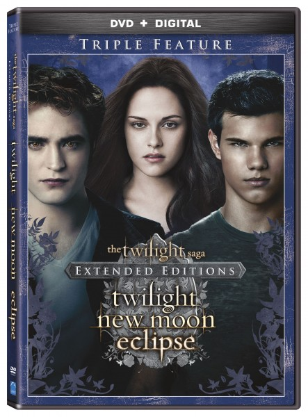 TWILIGHT TRIPLE FEATURE EXTENDED EDITIONS NEW RELEASE