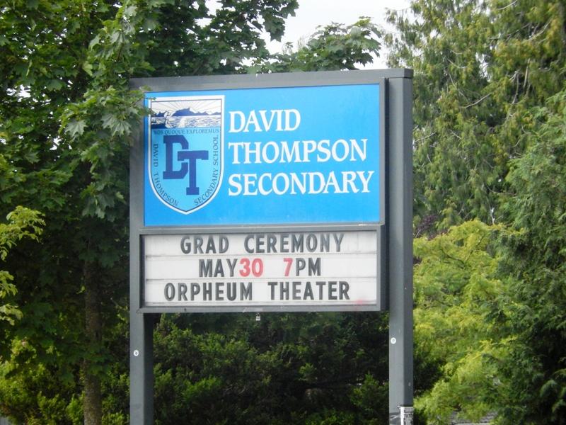 NEW MOON David Thompson School Stairs/Hallway