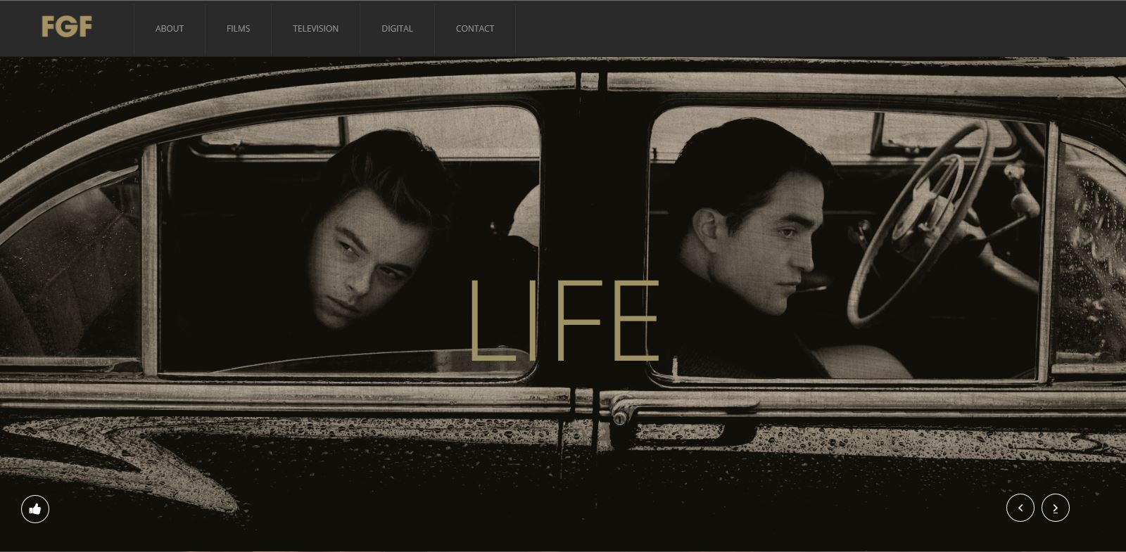 """LIFE"" WITH ROBERT PATTINSON"