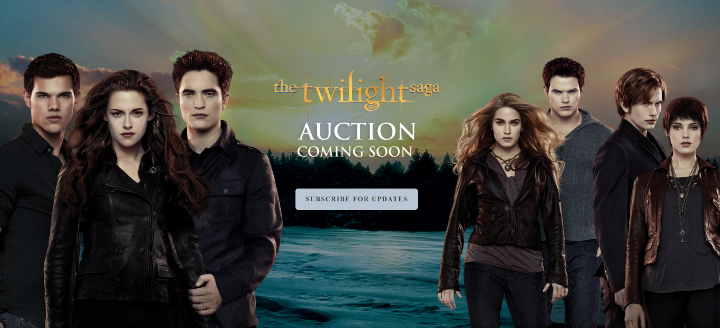 Twilight Saga Auction For Props